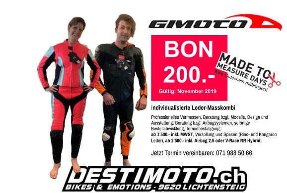 GIMOTO KOMBI 200.- AKTION IM NOVEMBER