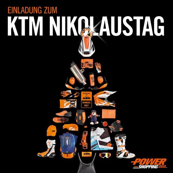 KTM SAMICHLAUS, POWERDAYS UND KUNDENHÖCK, 7. Dezember ab 17.00 Uhr